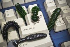 Datorsäkerhetsöverträdelse Royaltyfri Bild