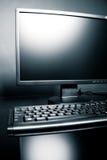 datorskrivbord Arkivbild