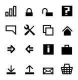 datorsymbolsinternet undertecknar världen Arkivbild