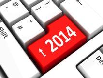 Datortangentbord 2014 Arkivbild