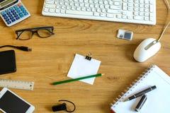Datortangentbord och hjälpmedel Arkivfoton