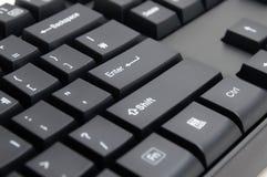 Datortangentbord: Skriv in tangenten fotografering för bildbyråer