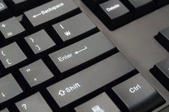 Datortangentbord: Skriv in tangenten royaltyfri bild