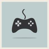 Datorvideospelkontrollant Joystick Vector Arkivbild