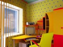 datorworkmount Arkivfoto