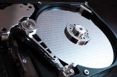 Datos binarios sobre disco duro Foto de archivo