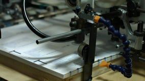 Datos de la impresión sobre el papel almacen de metraje de vídeo