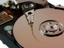 Datos del disco duro Foto de archivo libre de regalías