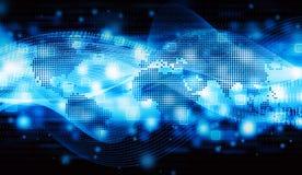 Datos del Internet del mundo stock de ilustración