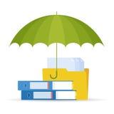 Datos E de la protección Fotografía de archivo libre de regalías