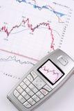 Datos financieros foto de archivo libre de regalías