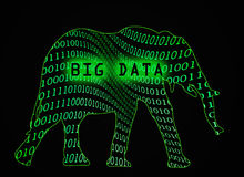 Datos grandes Imagen de archivo libre de regalías