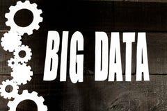Datos grandes de Internet Fotografía de archivo libre de regalías