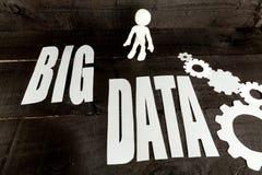 Datos grandes de Internet Fotos de archivo libres de regalías