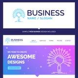 Datos hermosos de la marca del concepto del negocio, información, informa stock de ilustración