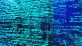 Datos programados virtuales Imagen de archivo libre de regalías
