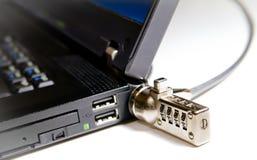 Datos/seguridad de ordenador Foto de archivo