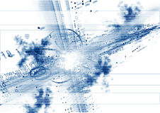 Datos sobre fondo libre illustration