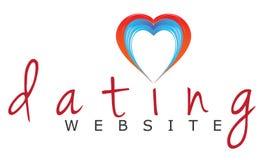 Datowanie strony internetowej Ręcznie pisany logo royalty ilustracja
