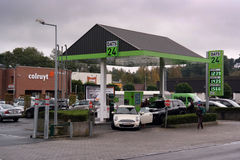 DATS 24 fuel station Stock Images