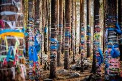 Datsan is Buddhist monasteries in Russia. Republic of Buryatia, Russia Royalty Free Stock Photography