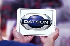 Datsun jedzie loga Obrazy Royalty Free
