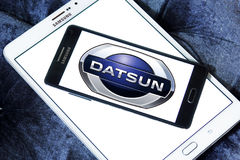 Datsun motors logo Royalty Free Stock Photography