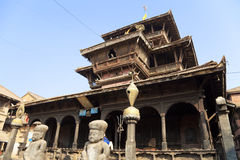 Dattatreya Temple, Bhaktapur, Nepal Stock Photo
