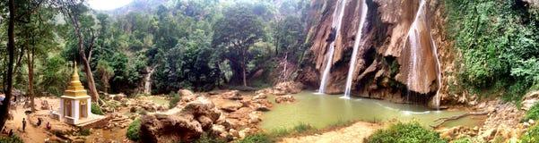Dattawgyaik vattenfall in Royaltyfria Bilder