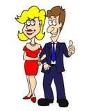 Datte de couples Photos libres de droits