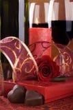 Datte de jour de Valentine images stock