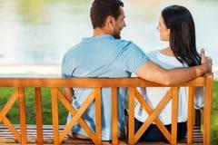 Datte romantique Photo stock