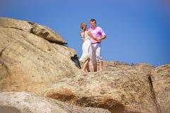 Datte romantique Photo libre de droits