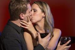 Datte romantique de couples Photo libre de droits