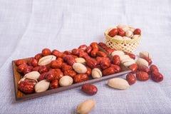 Datte rouge Photographie stock libre de droits