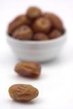 Dattelfrüchte Stockbild