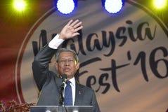 Datuk Seri Mustafa Mohamed Royalty-vrije Stock Fotografie