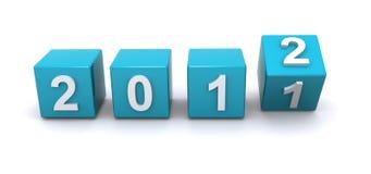 Datum 2012 Lizenzfreie Stockbilder
