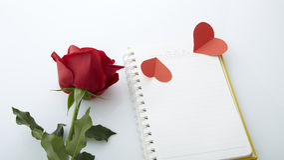 Datum av den Februari 14 Royaltyfria Bilder