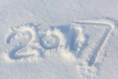 Datum des neuen Jahres Lizenzfreies Stockfoto