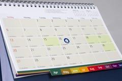 Datum die vergadering tonen Royalty-vrije Stock Afbeeldingen
