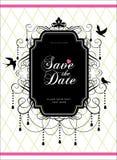 datumet sparar Royaltyfria Bilder