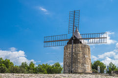 Daudet's windmill - Fontvielle (France) Royalty Free Stock Photography