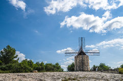 Daudet's windmill - Fontvielle (France) Stock Photography