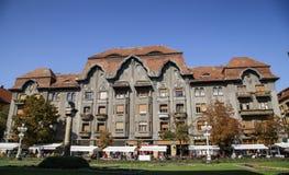 Dauerbach slott i Timisoara Arkivbild
