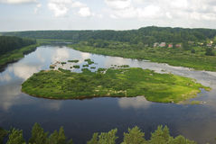 Daugava Fotos de archivo