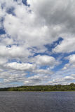 Daugava river, Latvia. Royalty Free Stock Photos