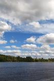 Daugava river, Latvia. Royalty Free Stock Image