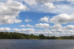 Daugava river, Latvia. Royalty Free Stock Photography