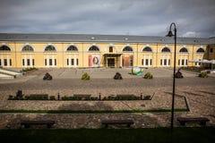 Daugavpils fortress. Latvia. Mark Rothko Art Center. Scenic view Stock Photos